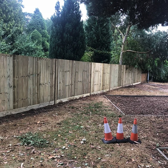 Timber Closeboard Fencing-Installers-Berkshire